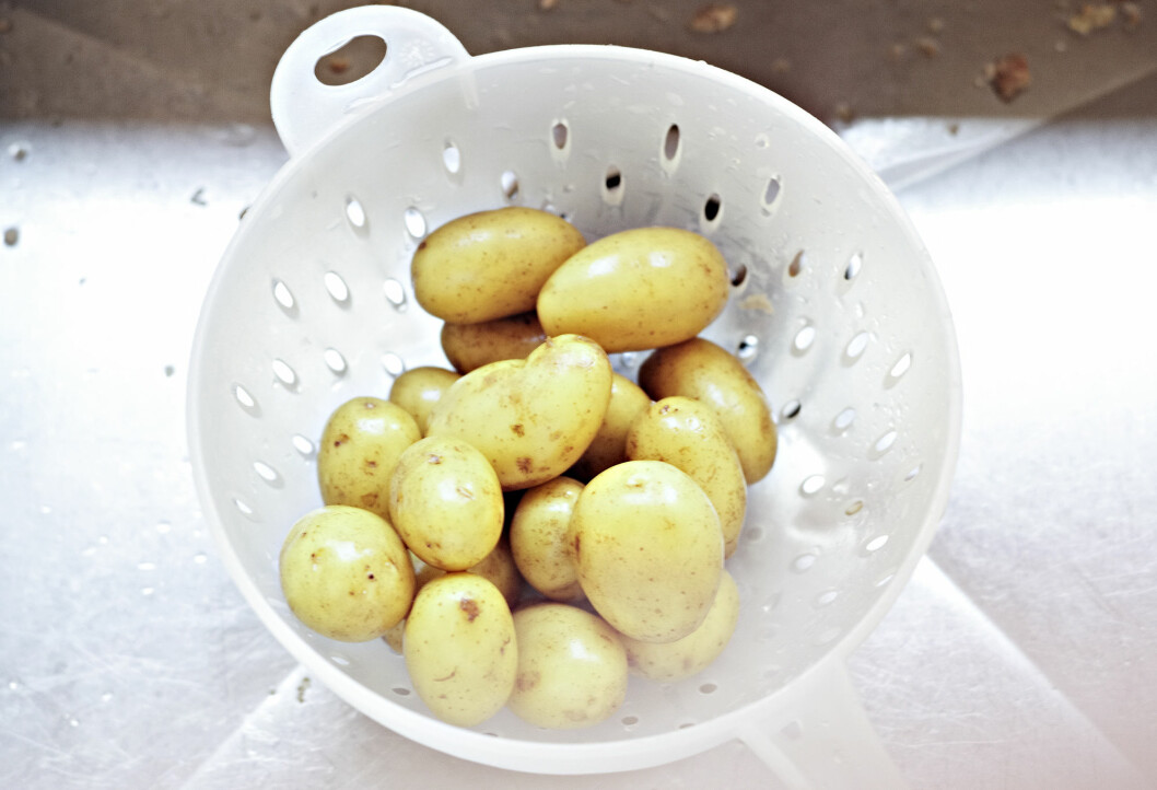 Poteten har en viktig rolle som moderat karbohydratkilde. I tillegg inneholder poteter mange andre viktige næringsstoffer som, kalium, vitamin C, kostfibre og folat. (Foto: Jon-Are Berg-Jacobsen)