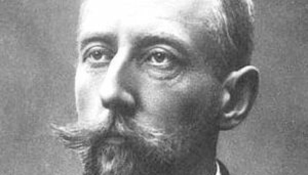 Roald Amundsen. Bilde fra boka Nordvestpassasjen. 1908. National Library of Canada. Wikimedia Commons
