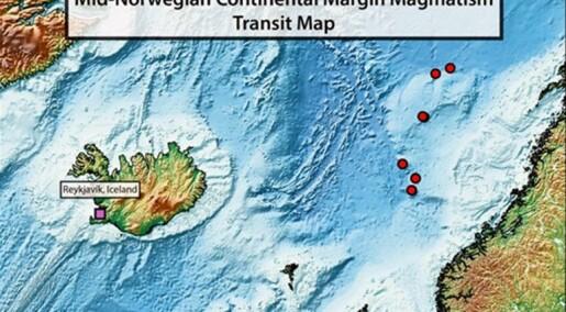 Kva skjedde då Noreg og Grønland skilde lag?
