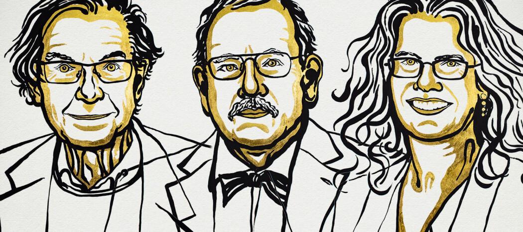 Roger Penrose, Reinhard Genzel og Andrea Ghez er vinnerne av årets Nobelpris i fysikk. Penrose er fra Storbritannia, Genzel er tysk og Ghez er amerikaner.