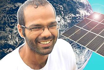 Siddharth forsker for en bedre og renere verden