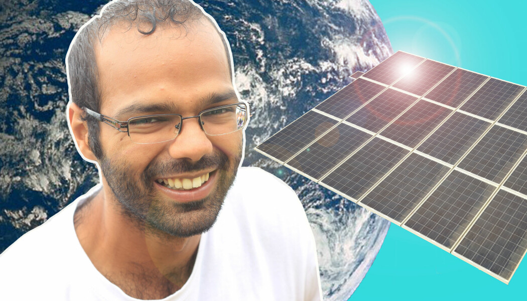 Mange tror at solcelle-paneler ikke vil fungere så godt i Norge. Har vi egentlig nok sol? Ja, sier Siddharth.