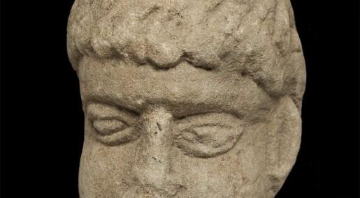 Romersk gud blant eldgammelt søppel