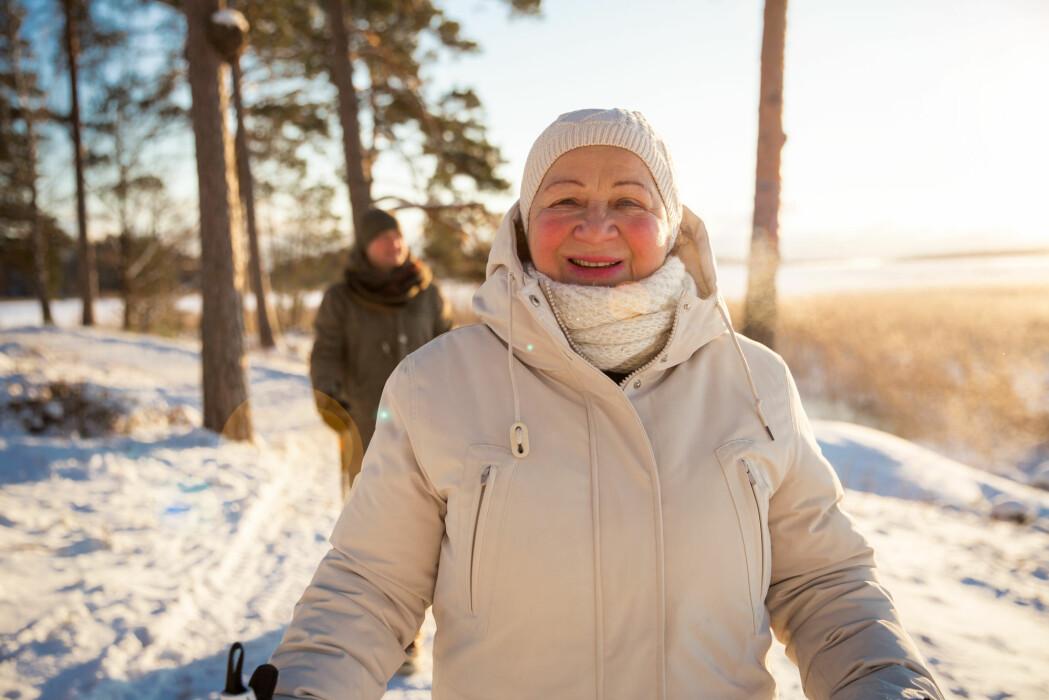 Pensjonister er blant dem som er mest tilfredse med økonomi, fritid og livet generelt i Norge.