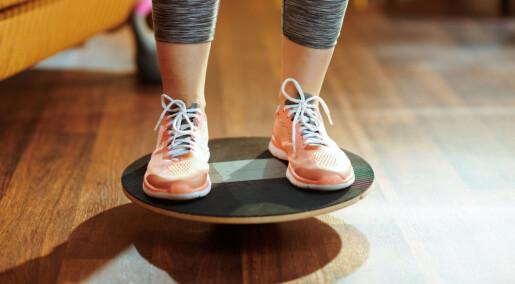 Trening på balanse kan hjelpe mot angst