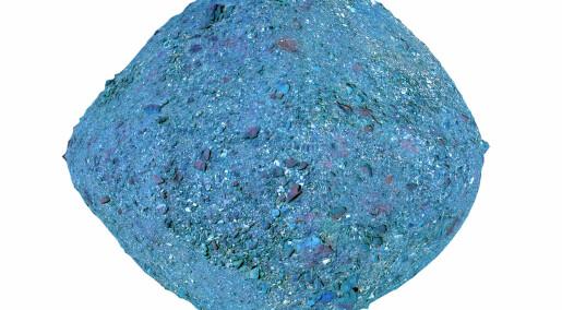 Snart skal en romsonde ta en prøve av grus-asteroiden Bennu