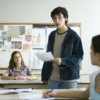 Tre elever i hver ungdomsskoleklasse får spesialundervisning. (Foto: Colourbox)