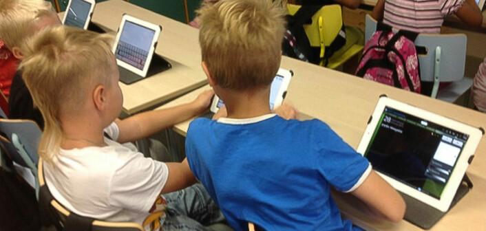 Andreklassinger lager blogg om livet på skolen. (Foto: Sanna Metsälä)