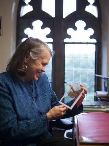 Karen King skjønner ikke hvorfor mange reagerer så sterkt på at Jesus kan ha vært gift. (Foto: Handout/Reuter)