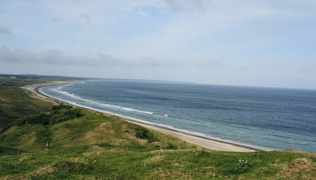 For bare drøyt to millioner år siden kan kysten av Vestlandet ha lignet på den langstrakte Jylland-kysten i Danmark.