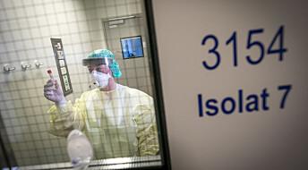Tre ting vi vet om de som havner på norske sykehus med covid-19