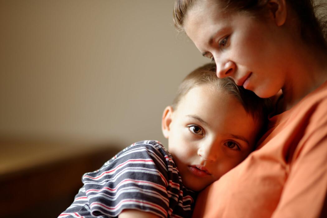 Foreldre som har en psykisk sykdom kan være mer trist, sliten eller redd enn det som er vanlig.