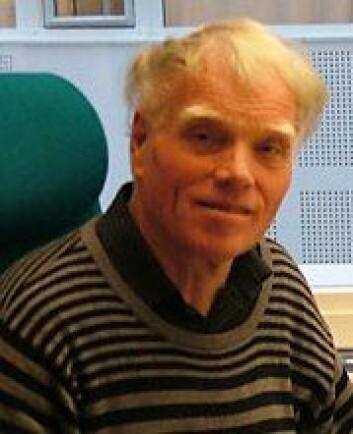 Professor Knut Lehre Seip ved Høgskolen i Oslo og Akershus. (Foto: Jan Eriksen)
