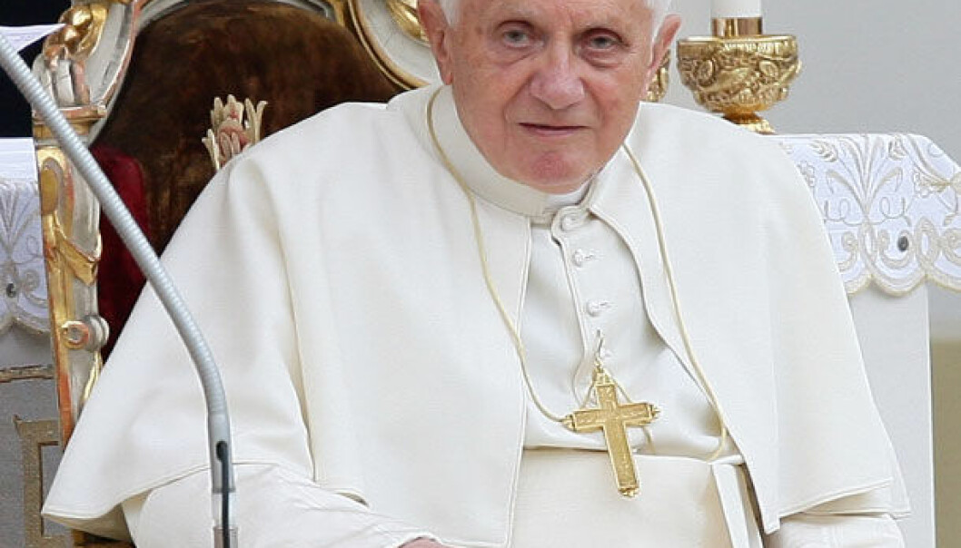 Pave Benedikt XVI er biskop av Roma og Den katolske kirkes 265. og regjerende pave. iStockphoto