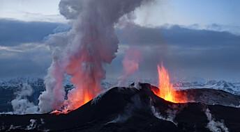 Island hever farenivået på vulkanen Grímsvötn