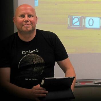 Kimmo Nyyssönen er koordinator for prosjektet. (Foto: Leena Hartikainen)