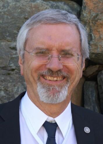 Roland Horne, Stanford University, President i International Geothermal Association. (Foto: Arnfinn Christensen, forskning.no)