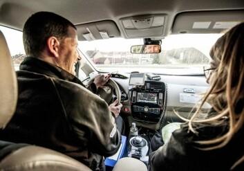Elbilen er godt egnet som taxi i sentrum og i bynære områder. (Foto: Green Highway)