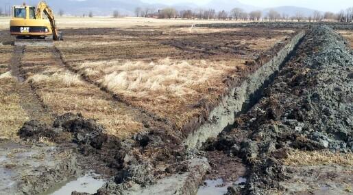 Bakgrunn: Nye kart hjelper bonden med regnvannet