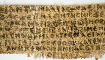 Papyrusbit som nevner Jesu kone skal være autentisk