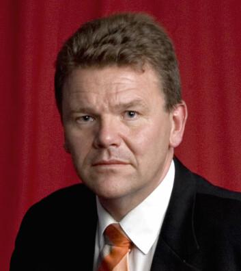 """""""Kunnspaksminister Øystein Djupedal (SV) får skarp kritikk fra Paul Chaffey i Abelia."""""""