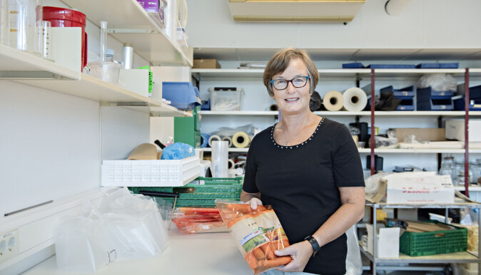 Hanne Larsen is working as a senior scientist at Nofima. She specialises in food packaging.