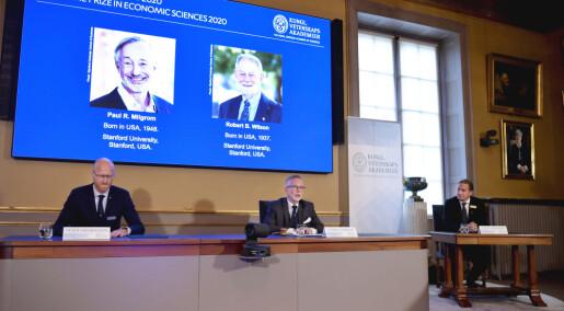 Nobelpris til amerikanske økonomer