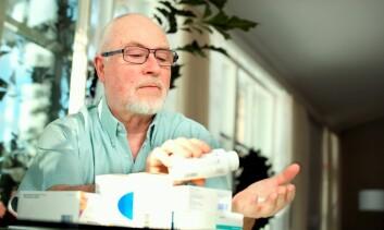 Eldre pasienter over 75 år har større risiko for blødninger enn yngre. Det er ikke sikkert alle leger er klar over det når de foreskriver warfarin. (Illustrasjonsfoto: Colourbox)