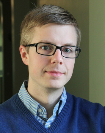 Terje Lohndal vil ha poeng for å skrive lærebøker.  (Foto: NTNU / Mentz Indregaard)