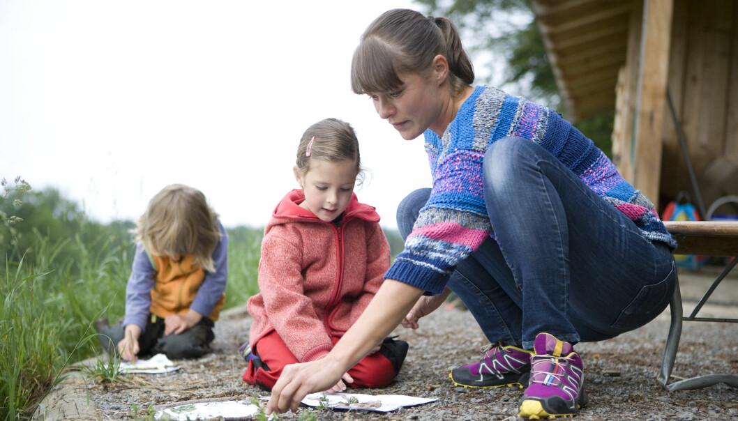 For at barna skal delta aktivt i barnehagens aktiviteter, må de voksne ha tillit til barna.