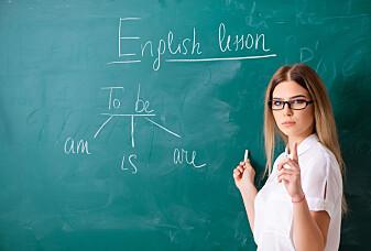Mange elever synes det er skummelt å snakke engelsk
