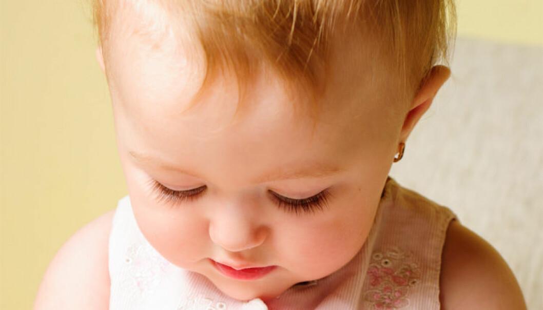Studien plasserer enda en puslespillbrikke av de minste barnas hukommelsesverden. (Foto: Colourbox)