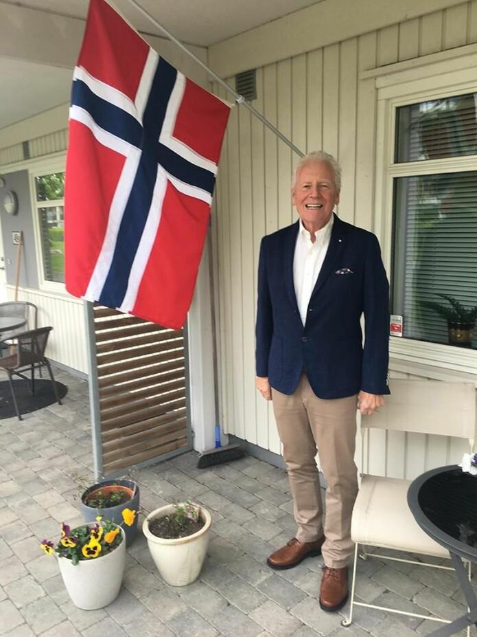 Ørnulf W. Andresen (76 år) tar opp ulike temaer om nazifiseringen av kommuner under krigen i sin doktorgradsavhandling.