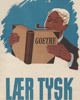 En ikke ubetydelig virksomhet fra NS-myndighetene var å drive propaganda for nazismen og denne brosjyren har et helt klart budskap. Lær tysk.