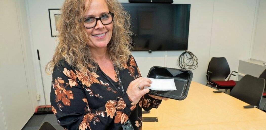 Marit Kvalvåg Pettersen har forsket på plastemballasje lenge før årets TV-aksjon og skal fortsette lenge etterpå.