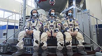 Nytt mannskap på vei til den internasjonale romstasjonen