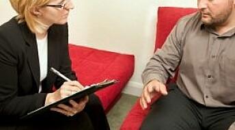 Studerer terapiens kvaliteter