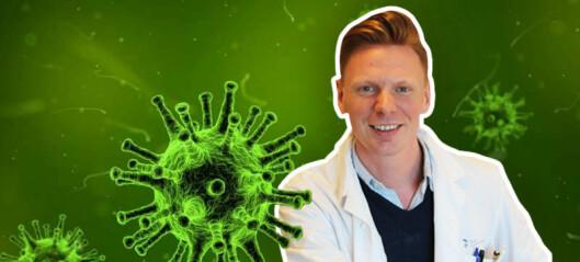 Jan Terje forsker frem nye og bedre medisiner