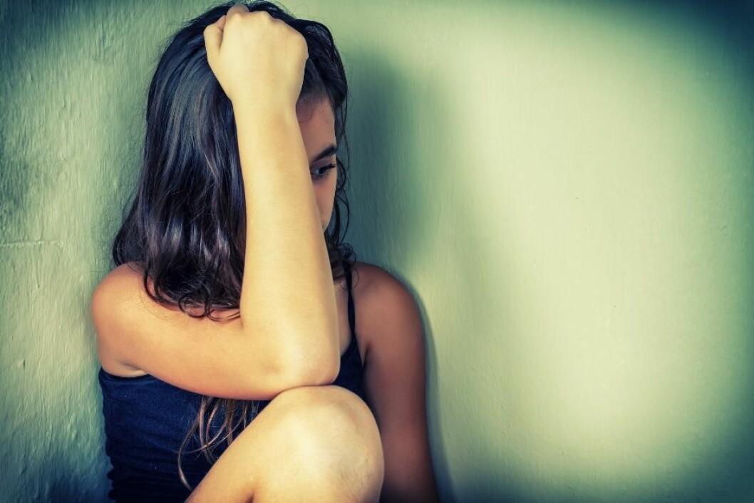 Studien viser at jenter har større sannsynlighet for å utvikle posttraumatisk stresslidelse enn gutter. (Foto: Microstock, HaywireMedia)