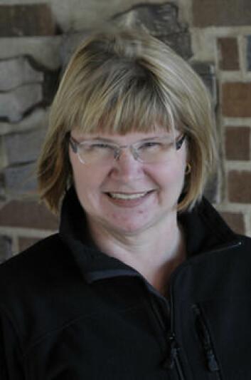 Informasjonssjef i SGU, Erika Ingvald. (Foto: SGU)
