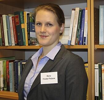 Postdoktor Froukje Maria Platjouw ved Nordisk institutt for sjørett.