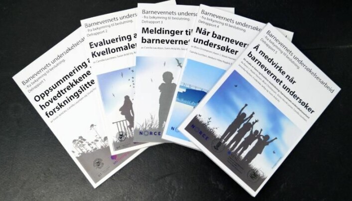 Sluttrapporten inneholder oppsummeringer og anbefalinger basert på innholdet i de fem delrapportene.