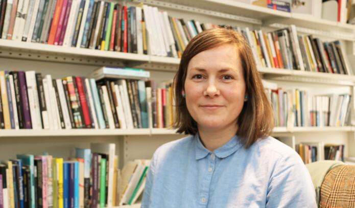 – Mye av det som er bevart på museer, er ting folk i fortiden har kvittet seg med, sier arkeolog Þóra Pétursdóttir.