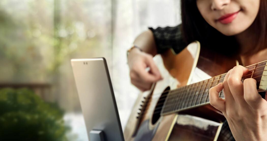 Når elever får være skapende i musikktimen så skjer mye av det samme som når et klassemiljø blir til.