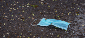 Ønsker tiltak for å stanse munnbind-forsøpling