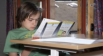 En av fem 15-åringer leser så dårlig at de vil få problemer i videre utdanning og yrkesliv