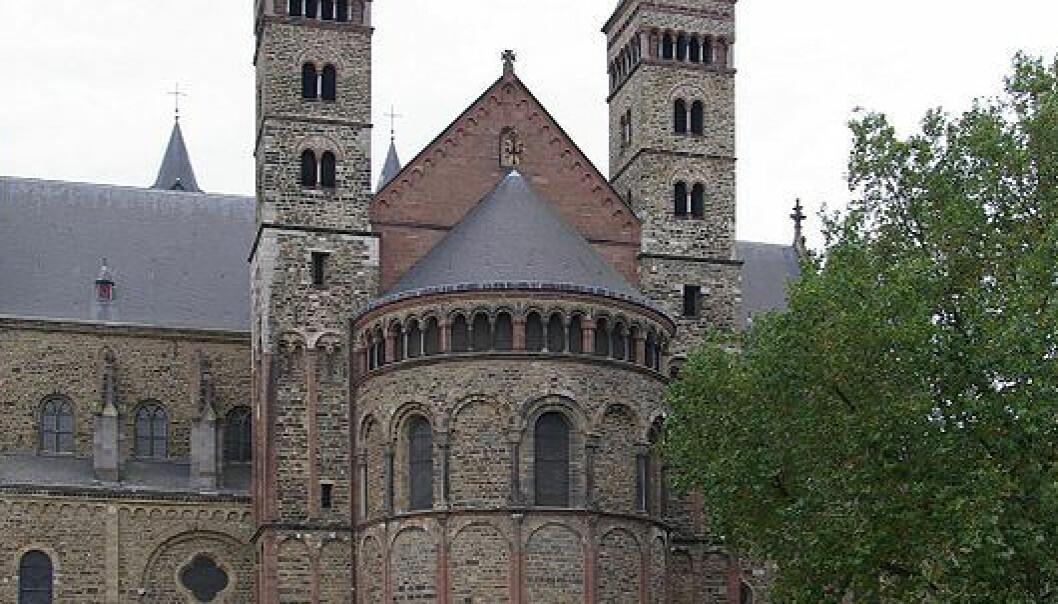 Basilica Saint Servatius i Maastricht, Nederland. (Berthold Werner/Wikimedia Commons)