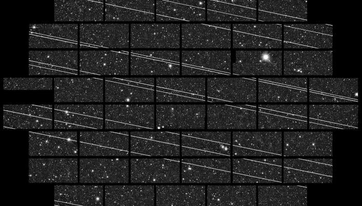 Titusener av nye satellitter kan skape problemer for astronomene
