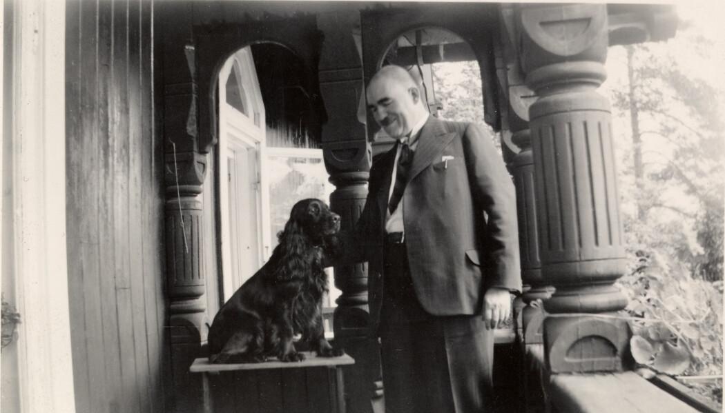Goldschmidt fotografert i 1938. Bare noen år senere ble han i siste øyeblikk reddet fra Hitlers konsentrasjonsleire.