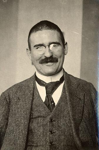 Victor Moritz Goldschmidt som ung forsker rundt 1920.